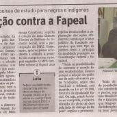 Jornal Gazeta de Alagoas de 5 de Dezembro de 2013.