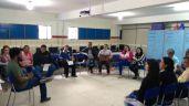 Dialogando com professores(as) da Escola Estadual Deputado rubens Canuto.