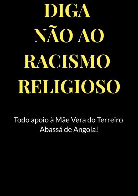racismo religioso